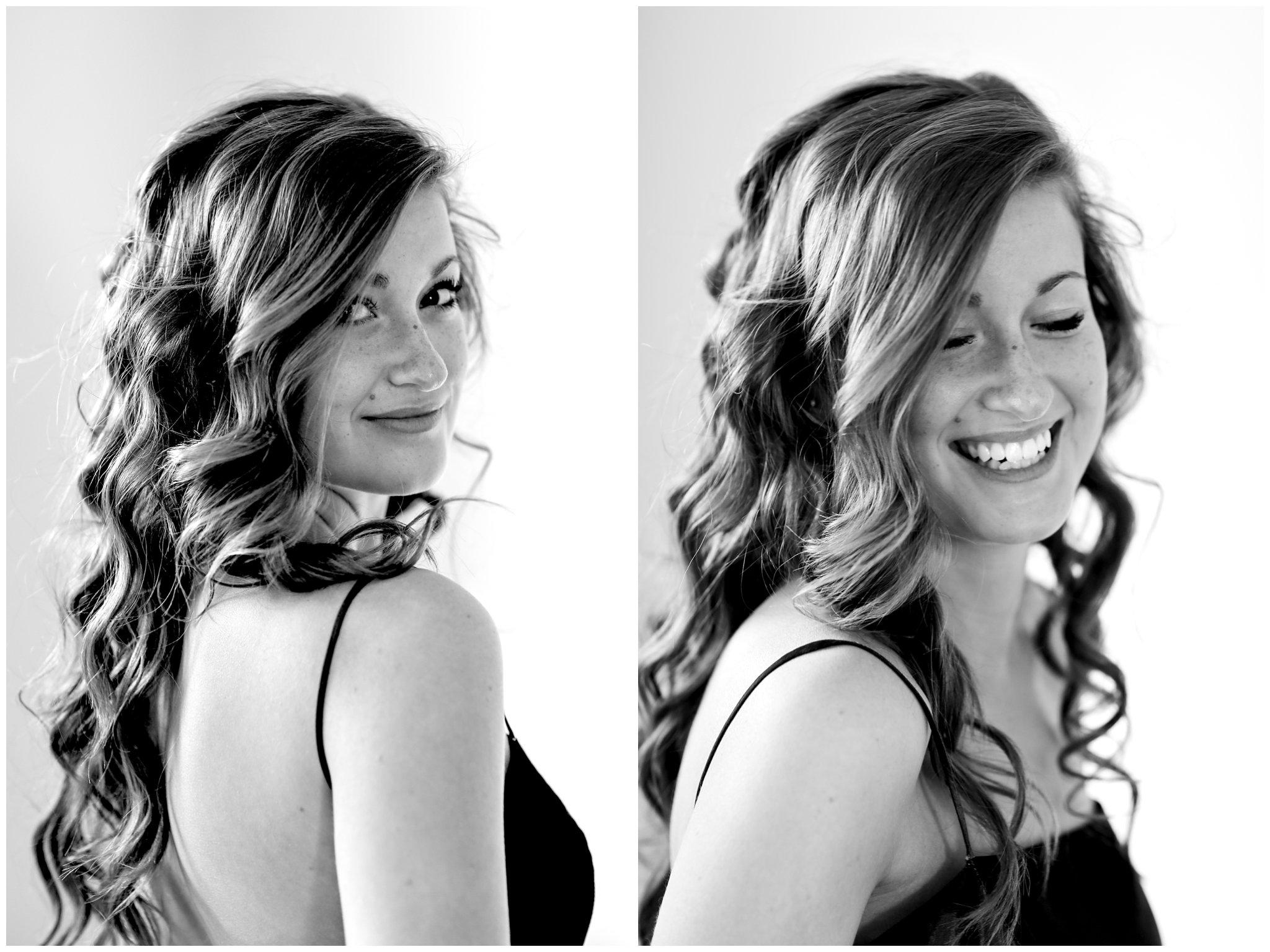 Sarah - BW Portraits 2-3