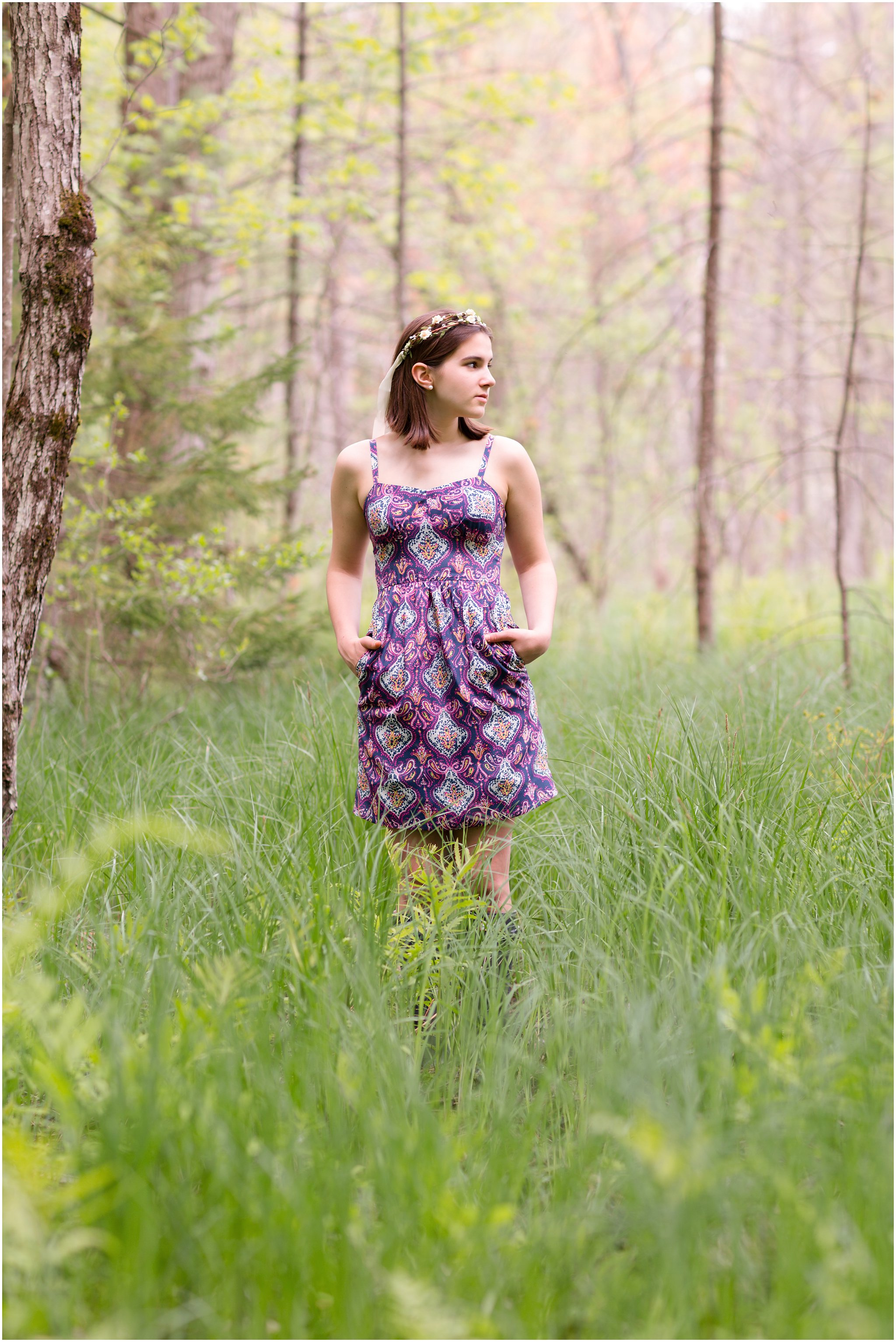 Nature Senior Photo Session