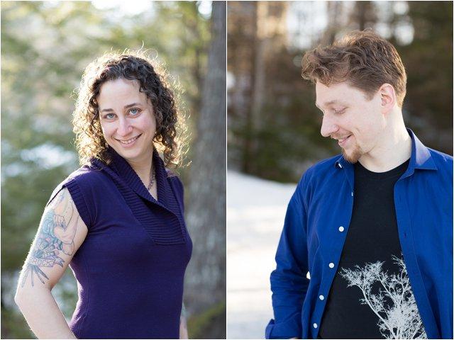 Outdoor Portraits of Bride- & Groom-to-be