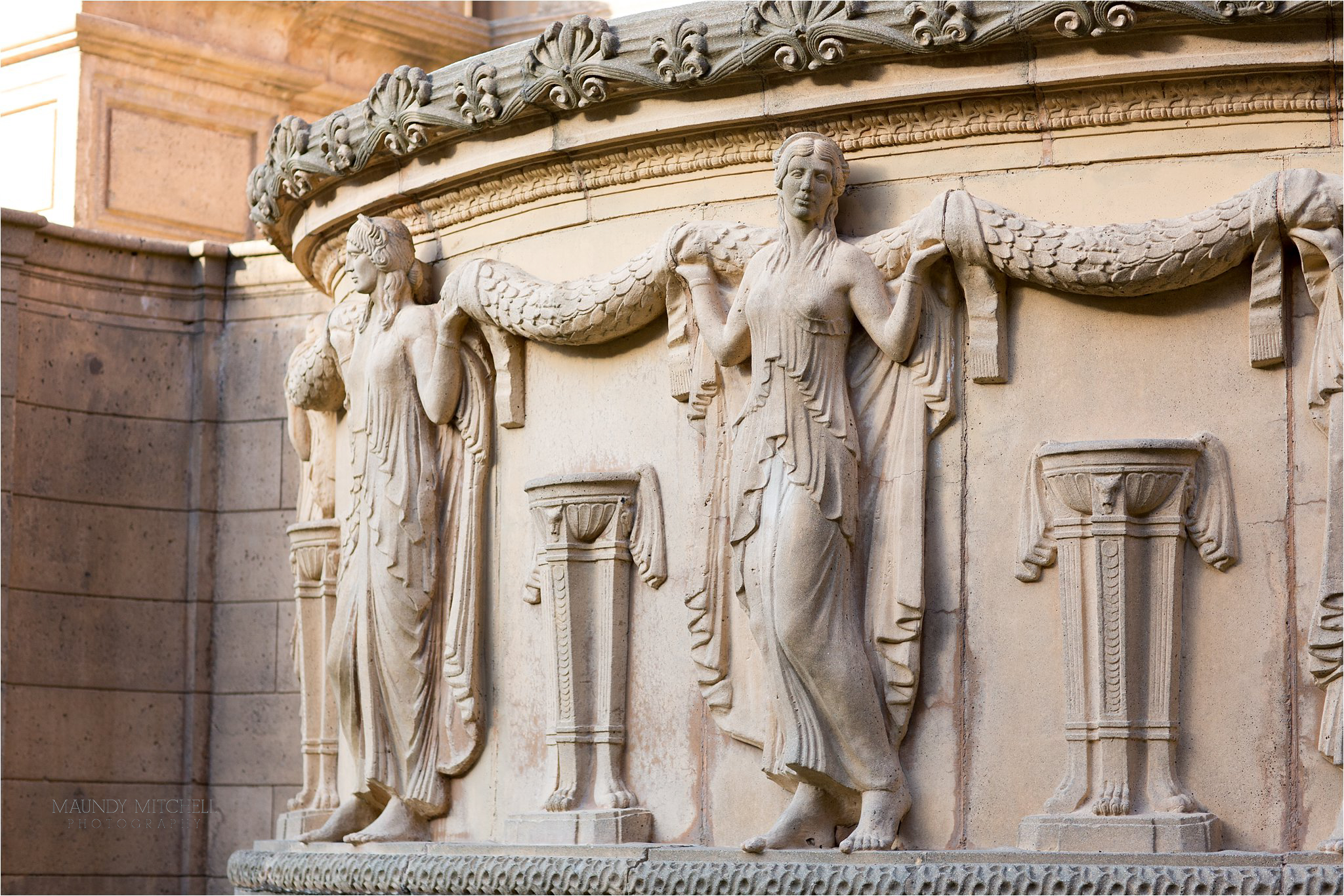 Architectural Detail at The Palace of Fine Arts