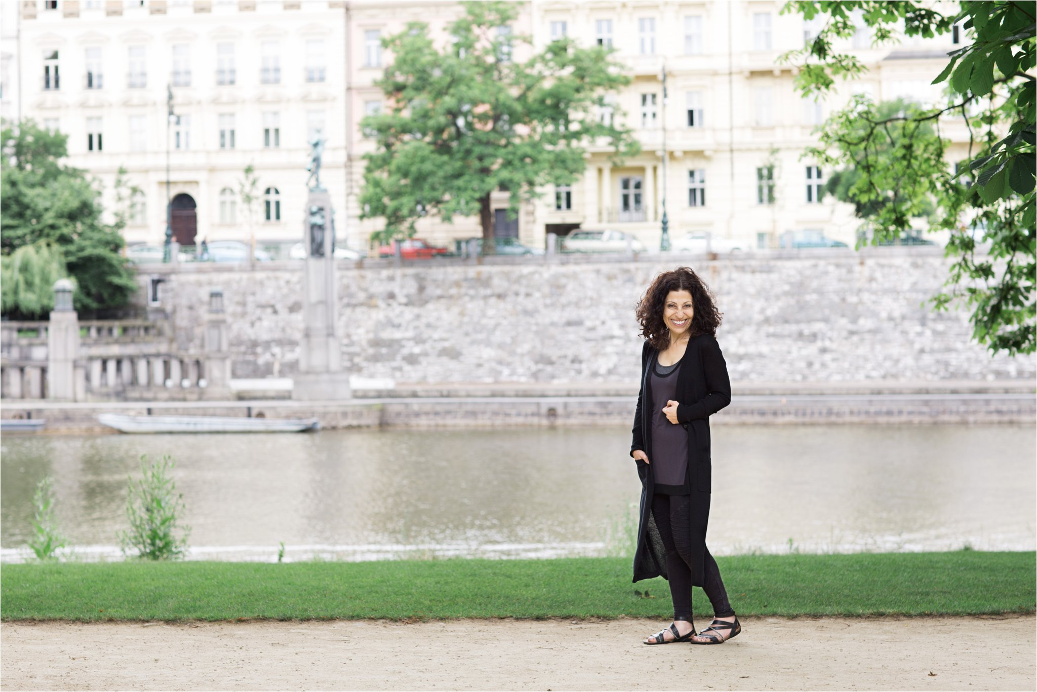Portraits on the River Vltava (C) Maundy Mitchell