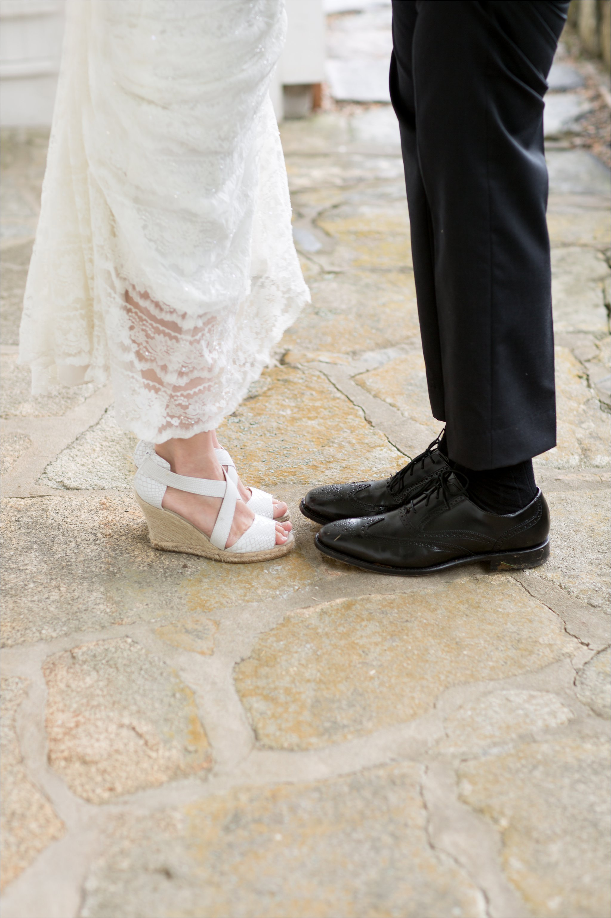 Shoes of Bride and Groom (C) Maundy Mitchell