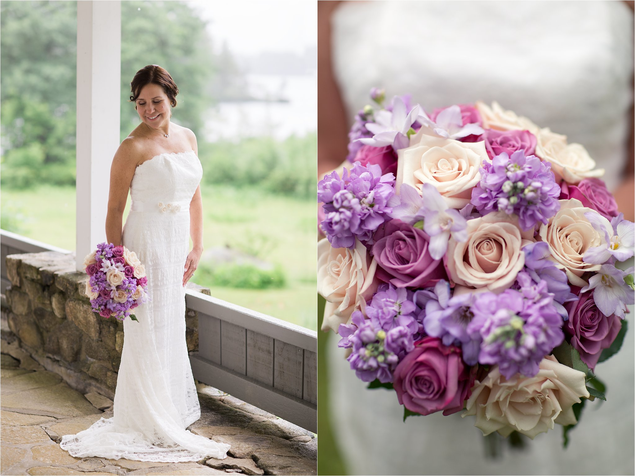 Bridal Portrait and Bridal Bouquet (C) Maundy Mitchell