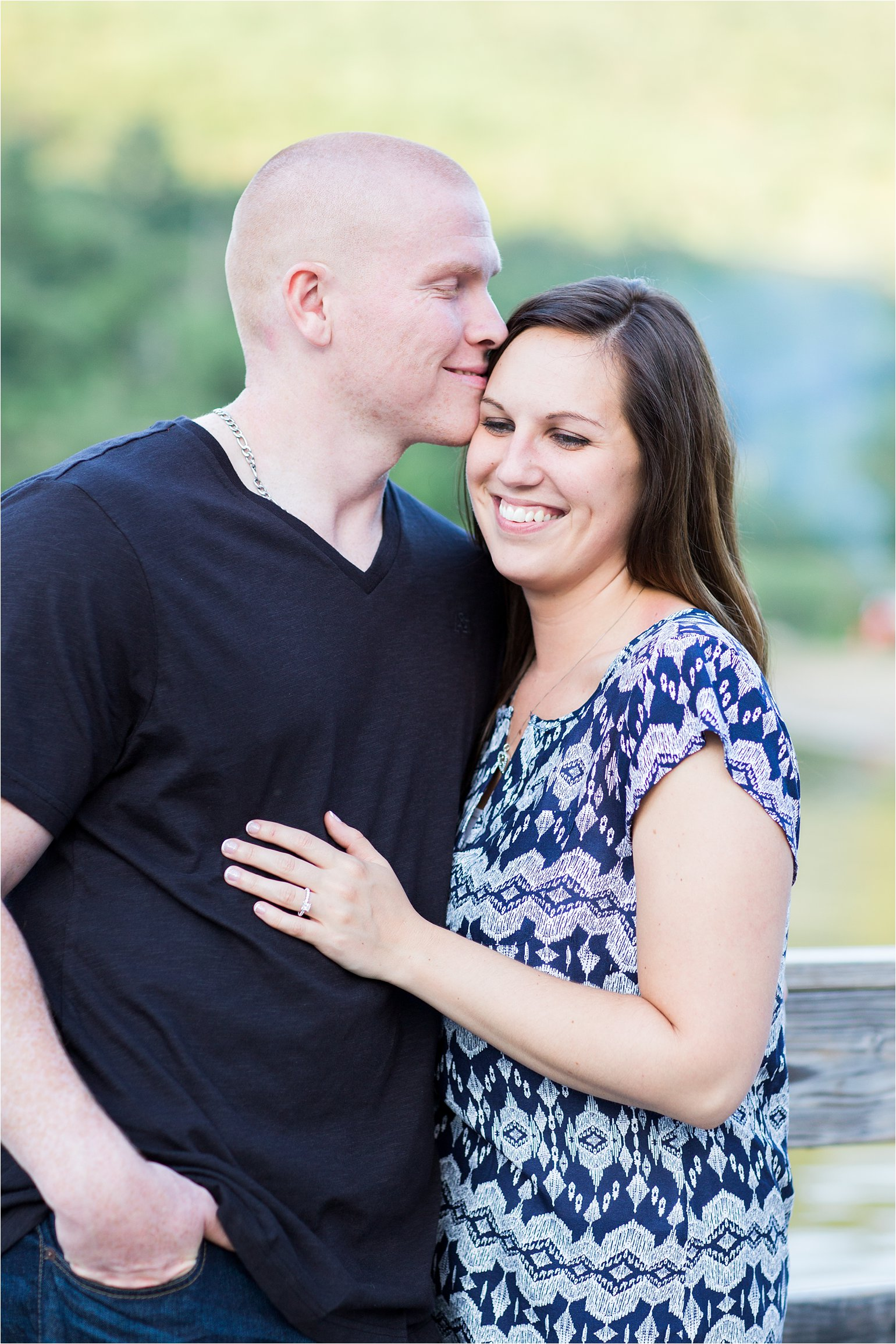 Waterville Valley NH Engagement Photos © 2015 Maundy Mitchell