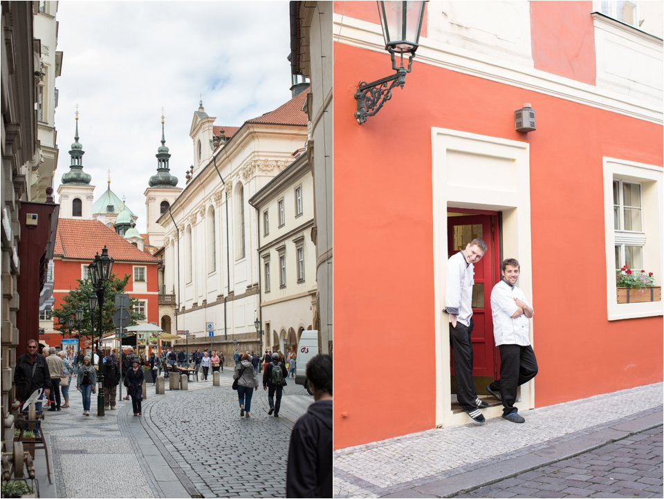 Streets in Prague (C) Maundy Mitchell