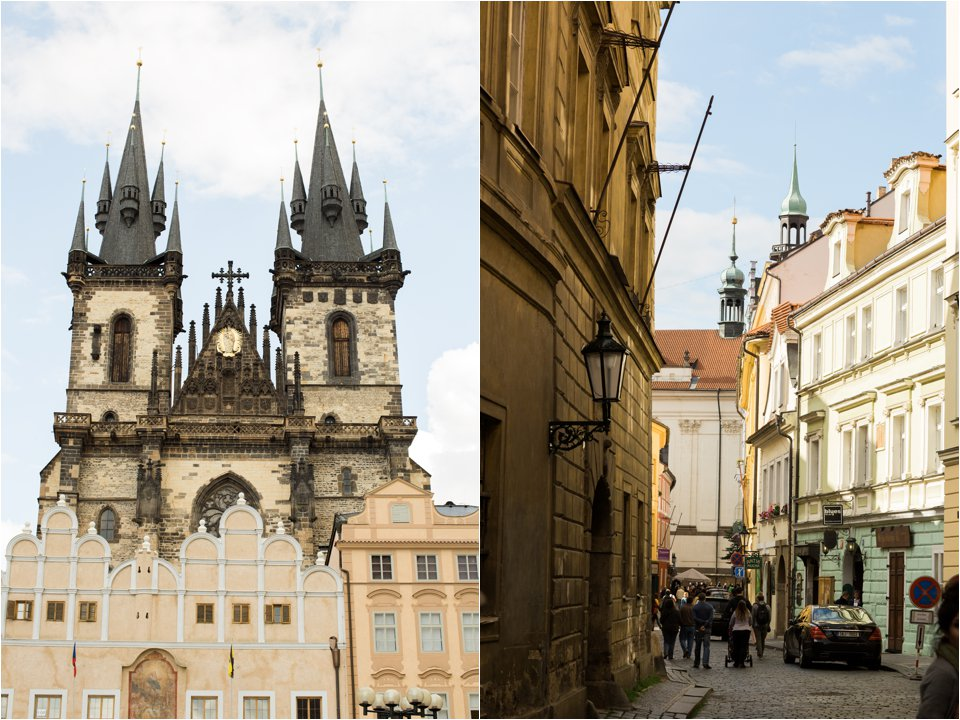 Prague architecture and street (C) Maundy Mitchell