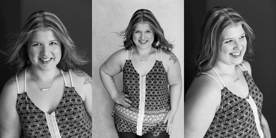 Black and White Portraits of Sarah
