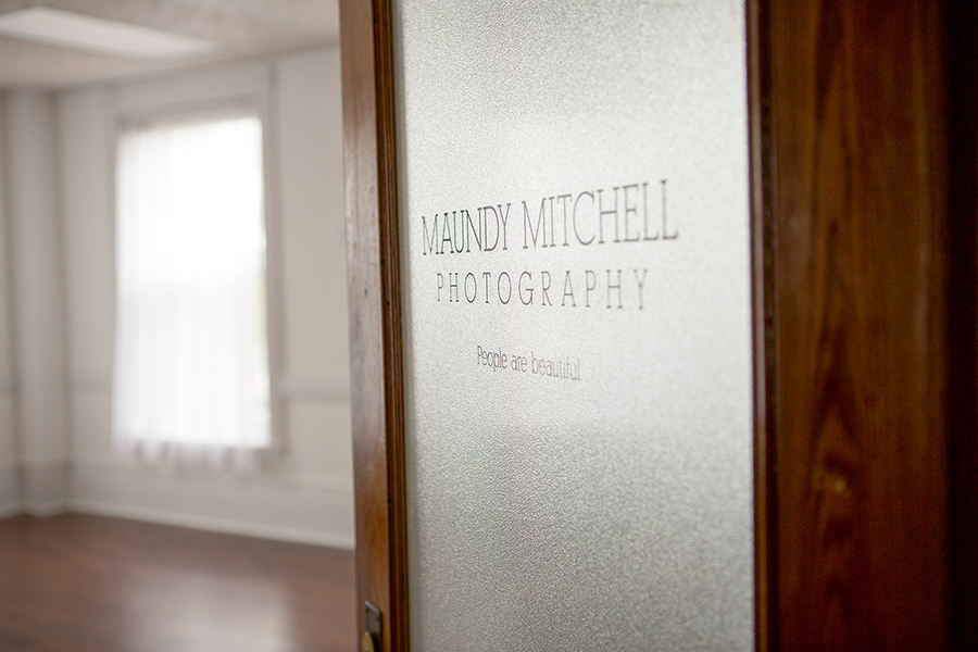 Plymouth NH Photography Studio Door