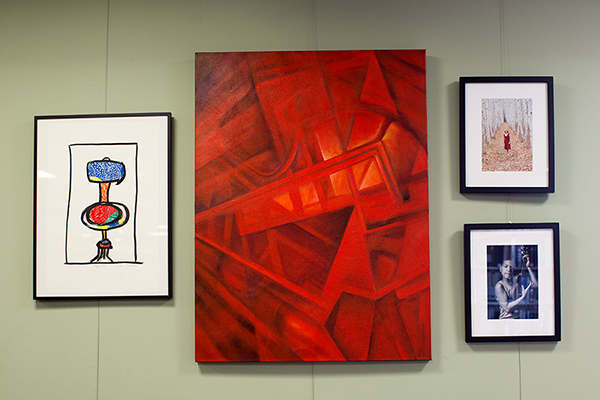 WCA Pease Library Art Exhibit