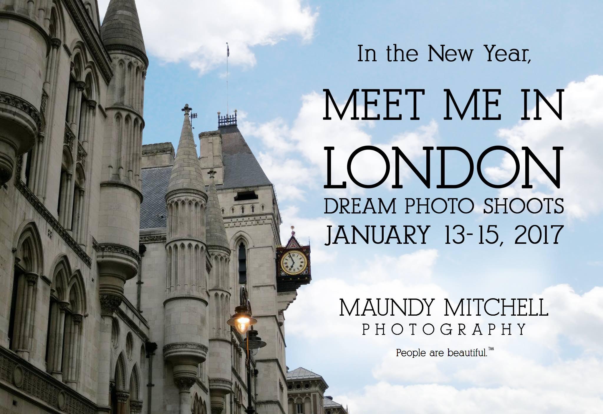 London Dream Photo Shoot 2017