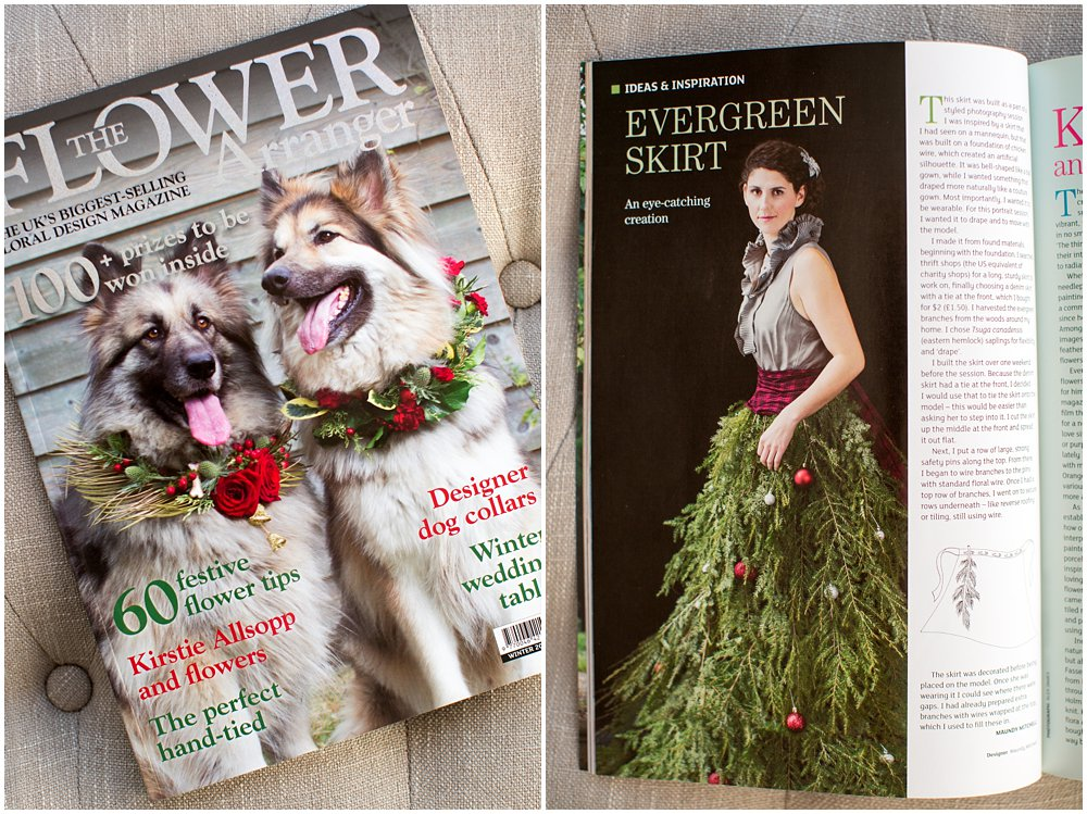 Publication in The Flower Arranger Magazine