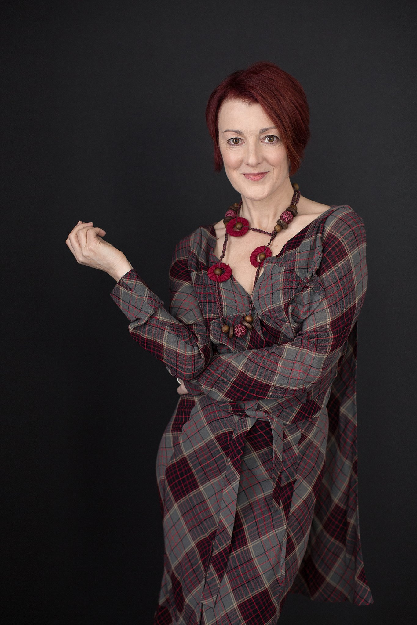 Jane in Plaid Vivienne Westwood Dress_0016.jpg