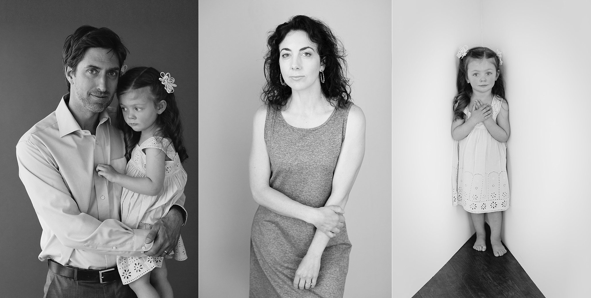 Black & White Portraits of Family with Young Girl_0003.jpg