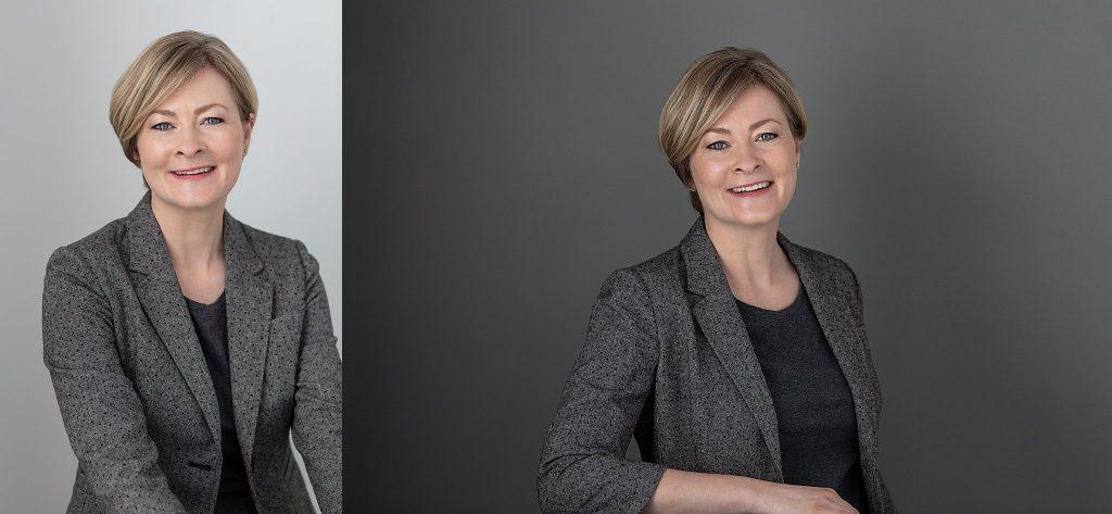Headshots of Heidi Pettigrew, Managing Director