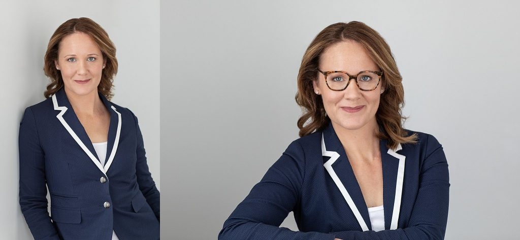 Headshots for use on business websites and social media
