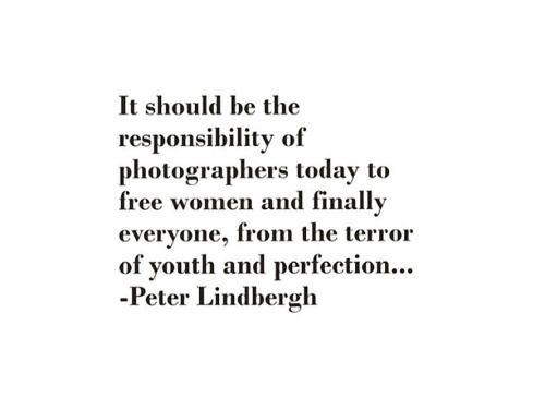 Peter Lindberg quote