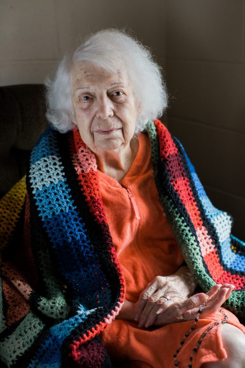 Portrait of Irene, Belknap County Nursing Home 2015
