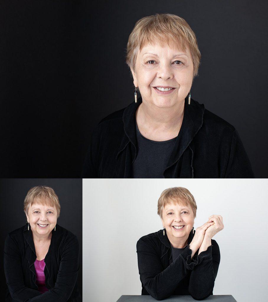 Headshots of Dr. Carleen Graff