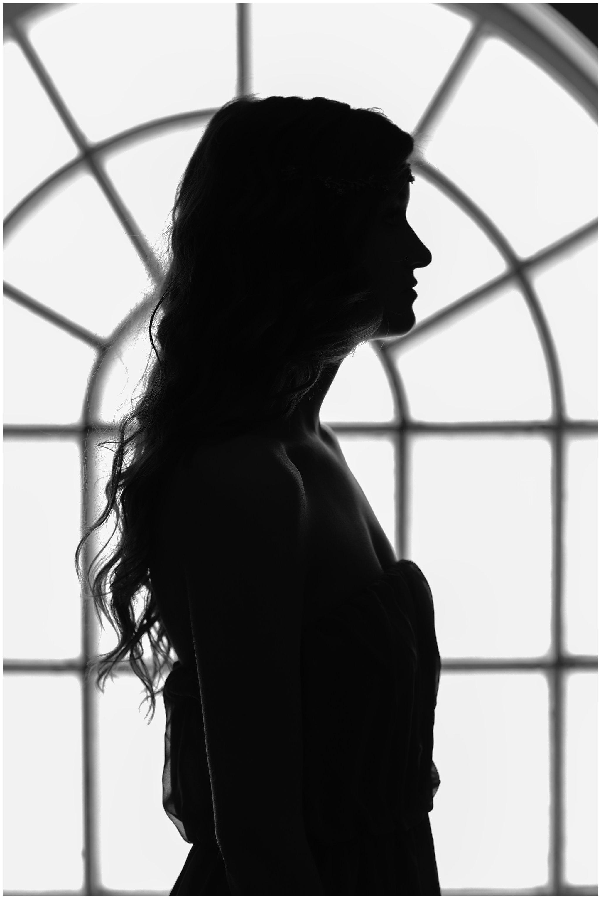 Sarah Window Silhouette
