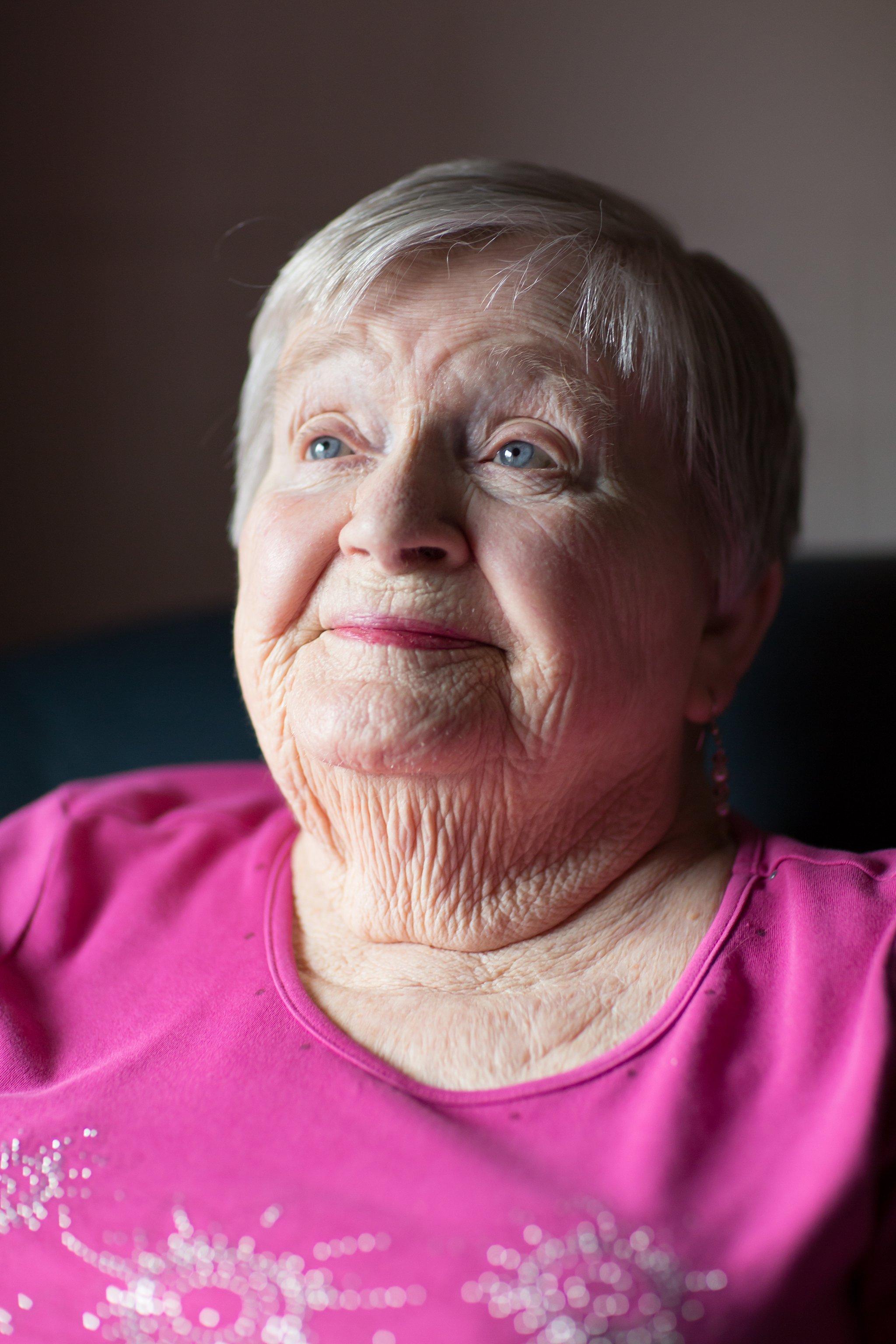 Portrait of Elderly Woman 3