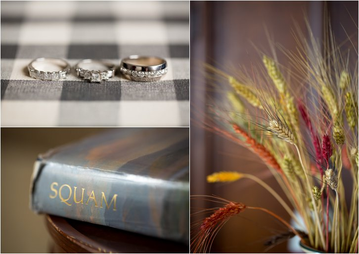Wedding Rings and Details