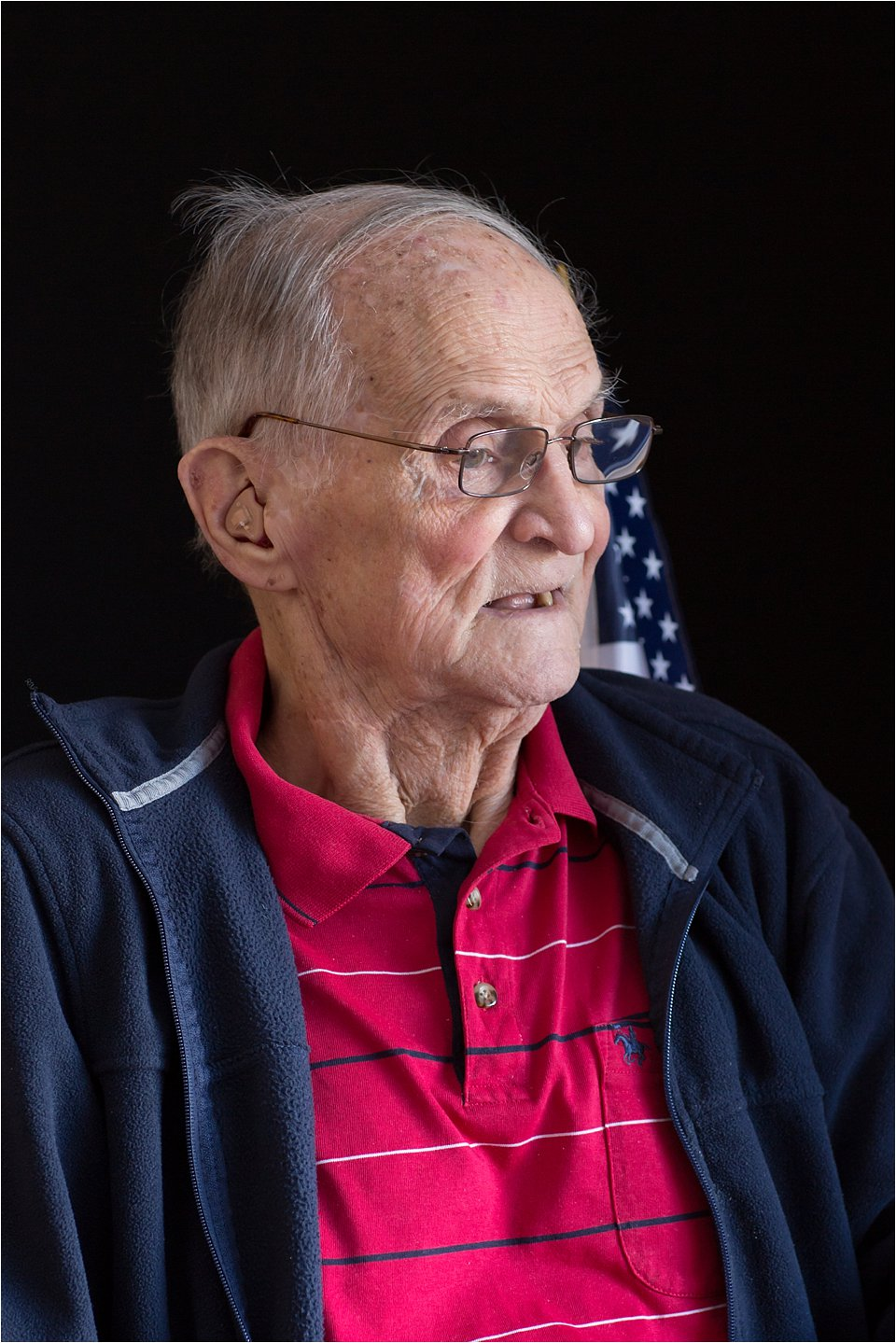 Elderly veteran (C) Maundy Mitchell