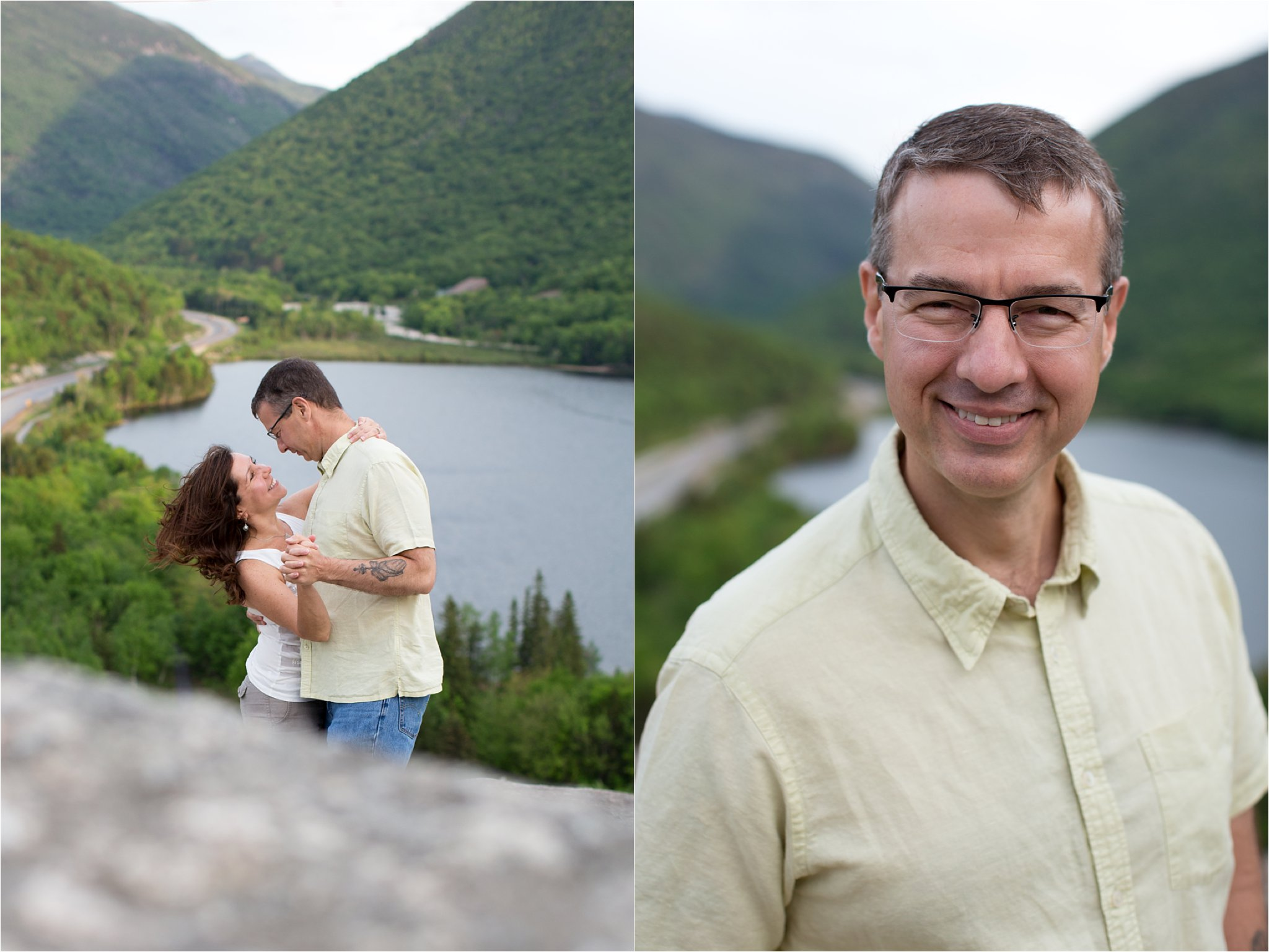 Franconia Notch engagement photos