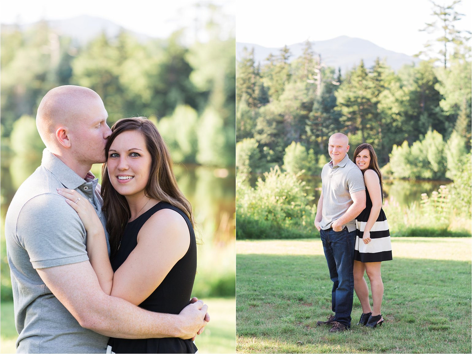 Engagement Photos at Waterville Valley © 2015 Maundy Mitchell