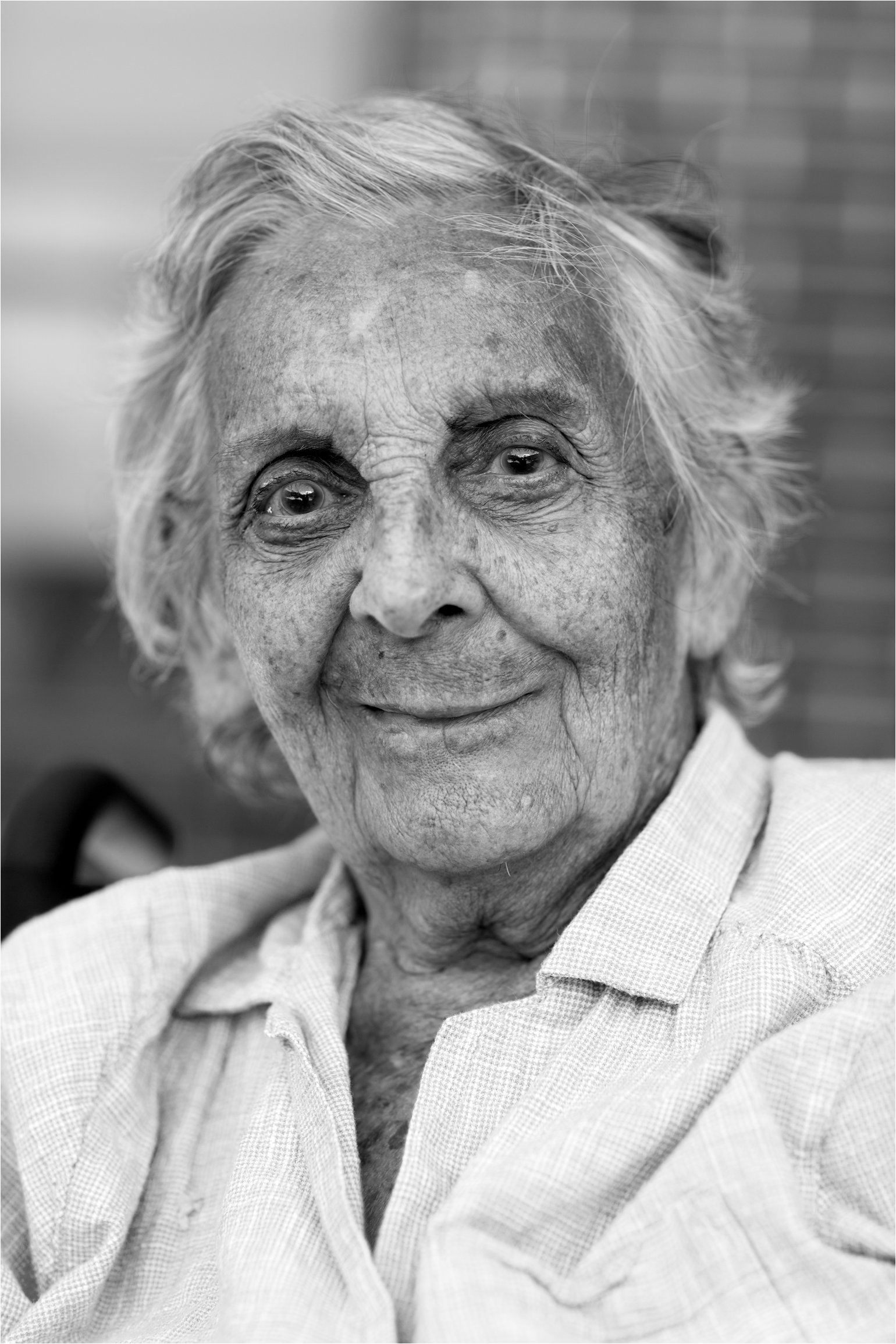 Black and White Portrait of Elderly Woman (C) Maundy Mitchell