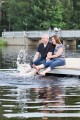 Nicole & Justin - A Waterville Valley Engagement Session