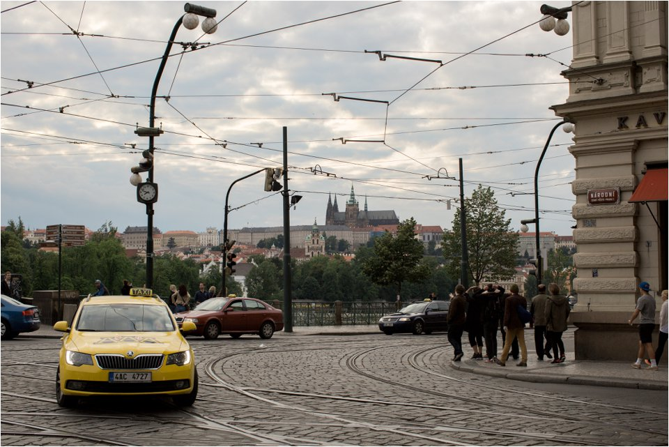 Taxi in Prague (C) Maundy Mitchell