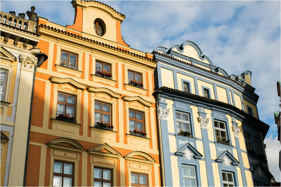 Buildings in Prague (C) Maundy Mitchell