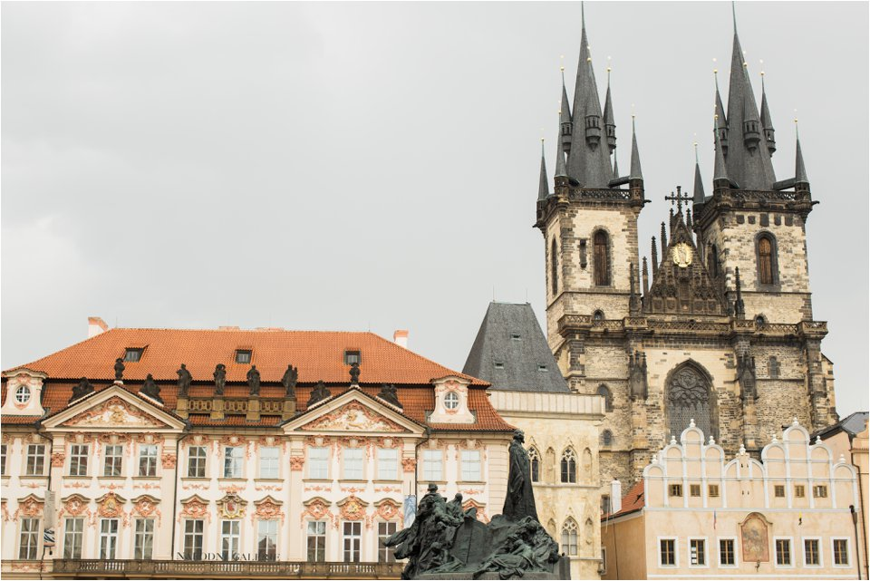 Old Town Square Prague (C) Maundy Mitchell