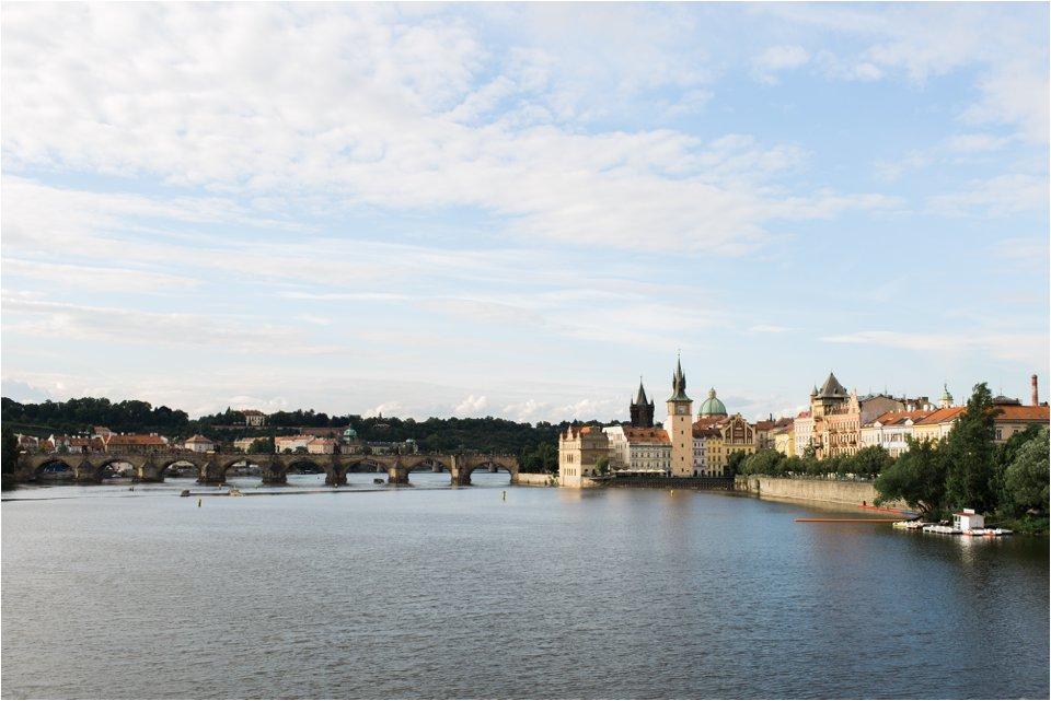 Charles Bridge and River Vltava (C) Maundy Mitchell