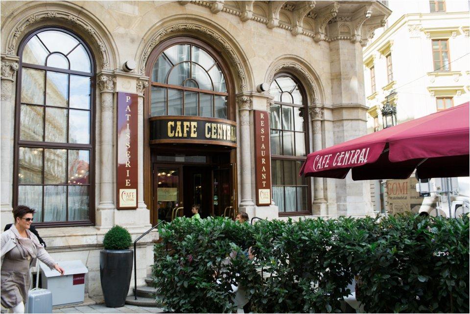 Cafe in Vienna Austria (C) Maundy Mitchell