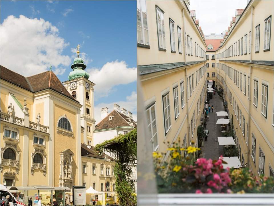 Buildings in Vienna (C) Maundy Mitchell