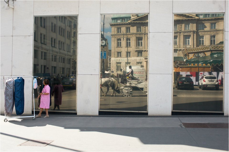 Reflections in Vienna (C) Maundy Mitchell