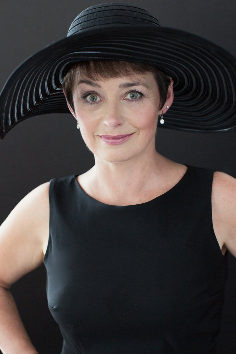 Portrait of Shirley in Black Dress and Hat_0006.jpg
