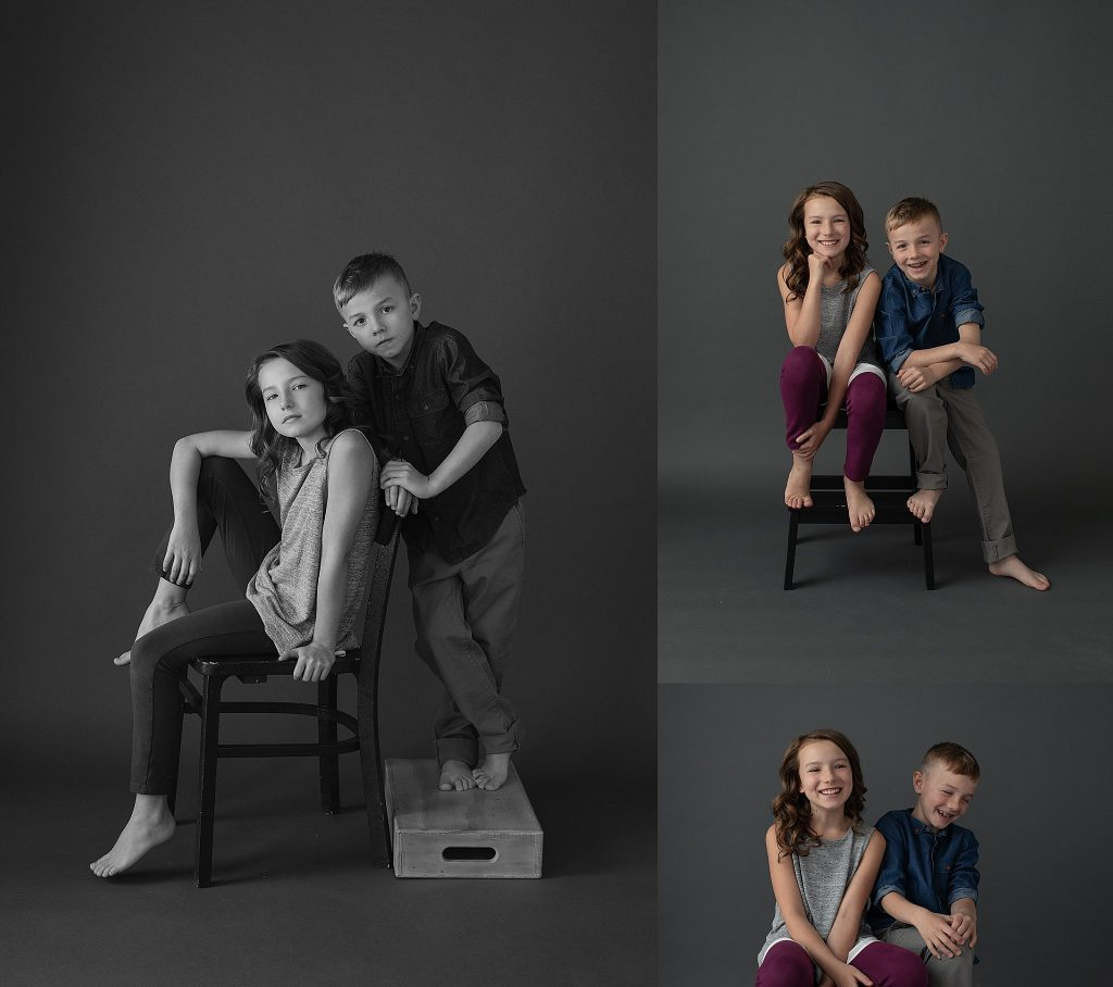 Photos of siblings