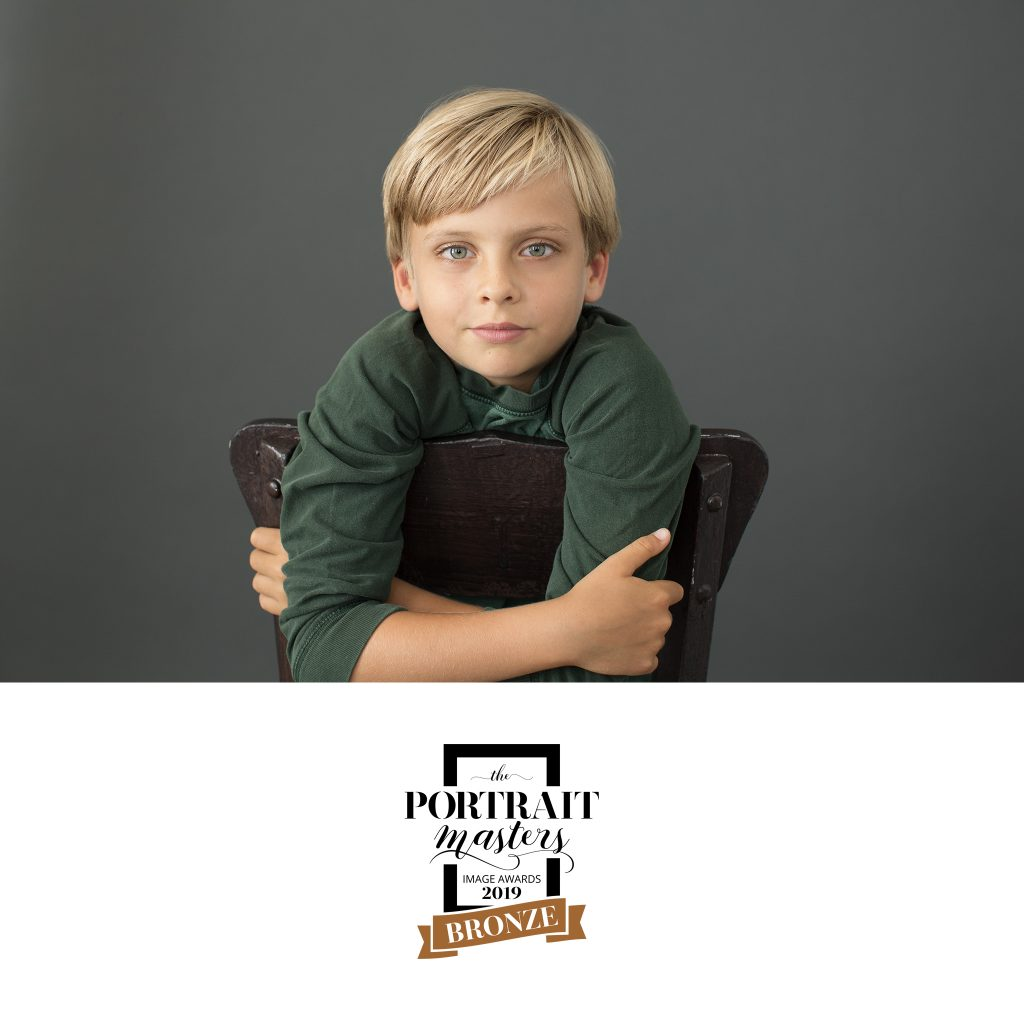 Bronze in Children's Portraiture:  Portrait of Luc