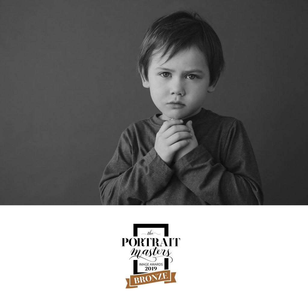Bronze in Children's Portraiture: Everett