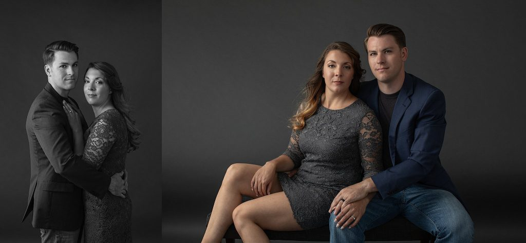Vanity Fair-style couples' portraits