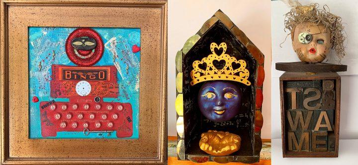 Three Art Works by Cilla Sheehan