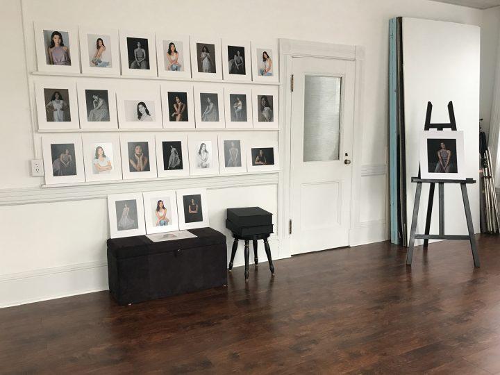 Ella's Print Reveal Wall