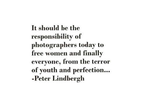 Peter Lindberg quote