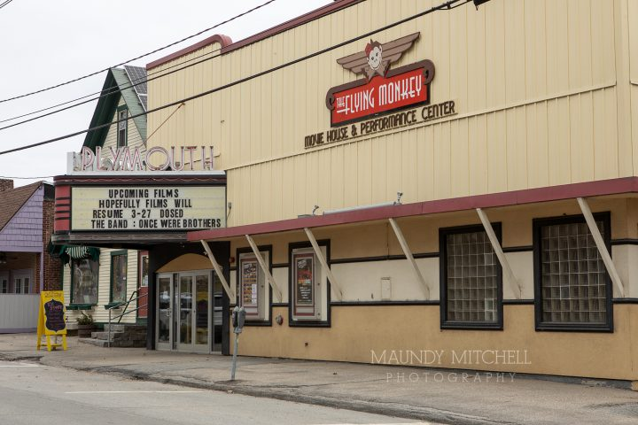 Downtown theater marquis
