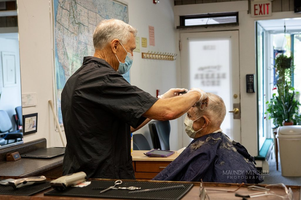 Barbershops reopened with restrictions