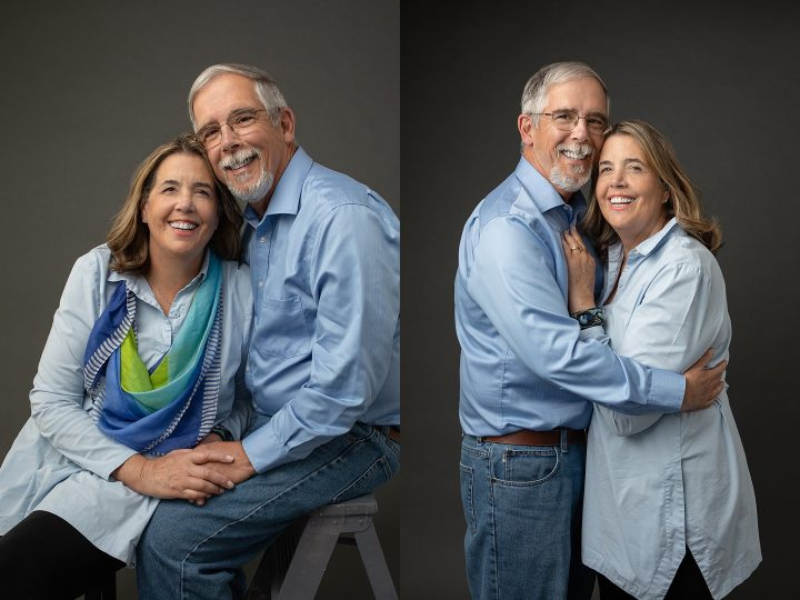 Anniversary photos for a couple over 60 in Plymouth, NH