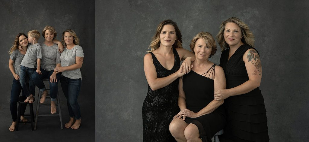 Vanity Fair inspired family photos