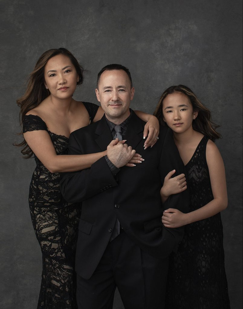 Vanity Fair inspired family portrait